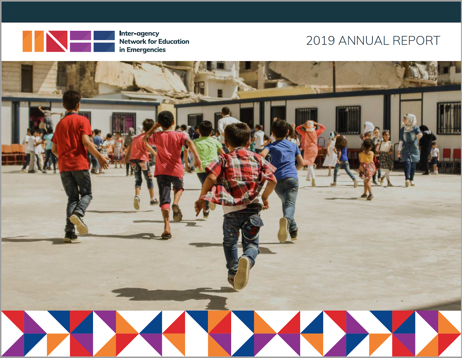 INEE 2019 Annual Report cover