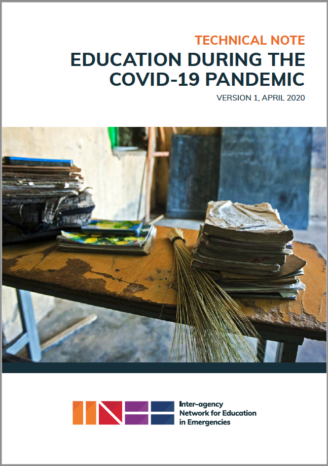 INEE TN on COVID-19 cover image