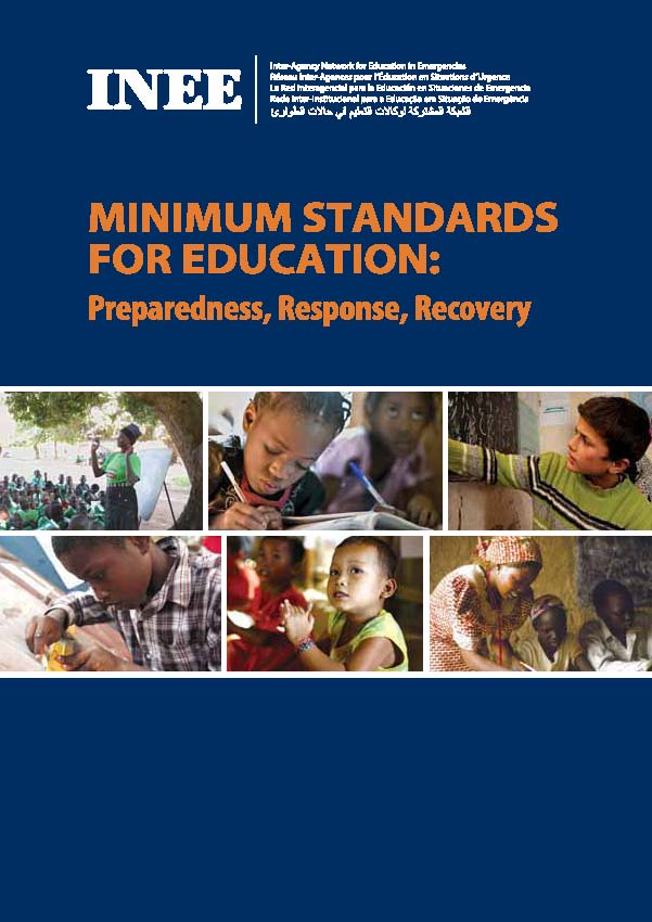 INEE Minimum Standards cover image
