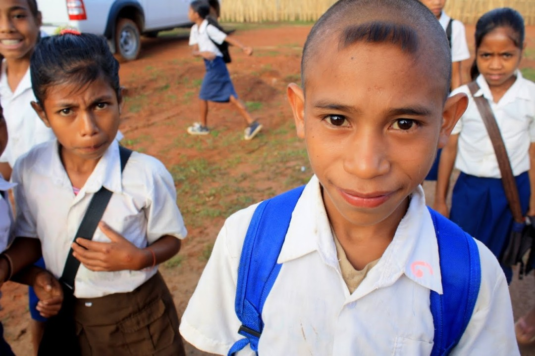 Photo: young learners in East Timor. By Andrea Naletto (April 2010)